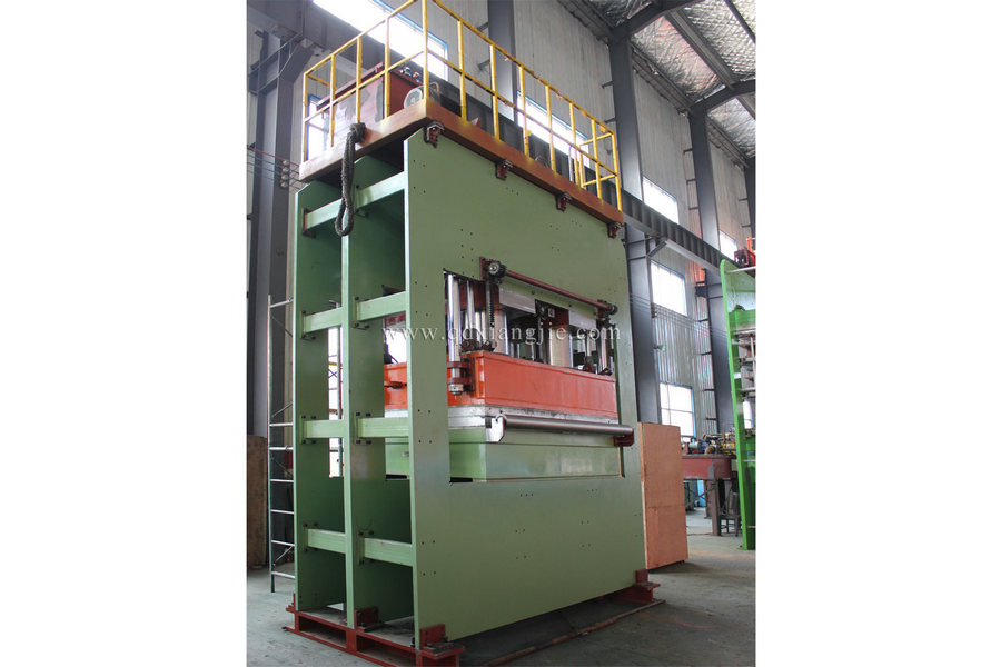 frame structure vulcanizing press