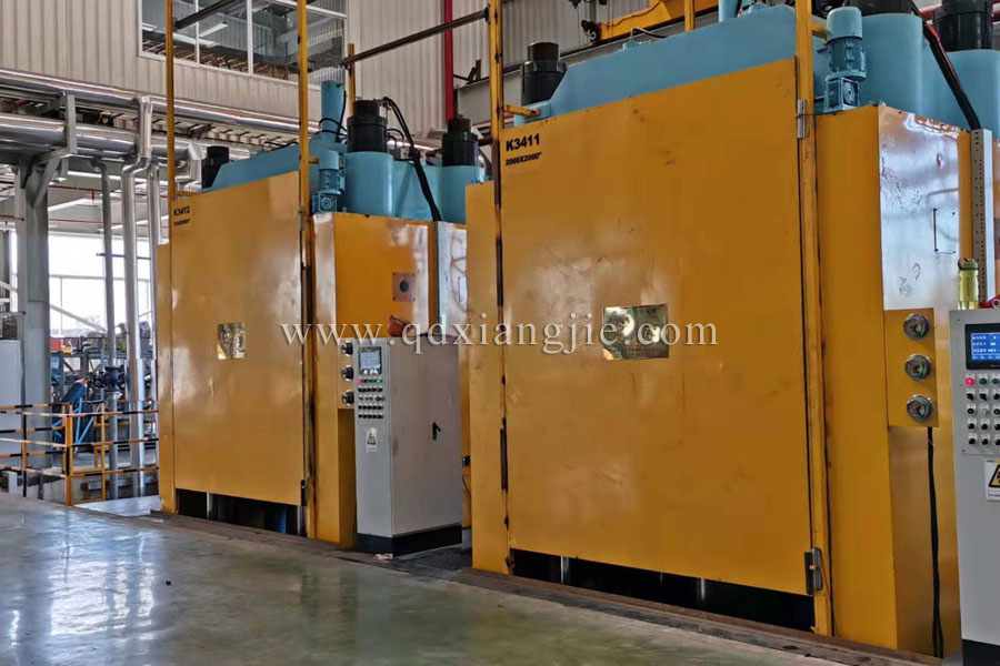 XLB_Q2000*2000=13MN Solid tire curing machine